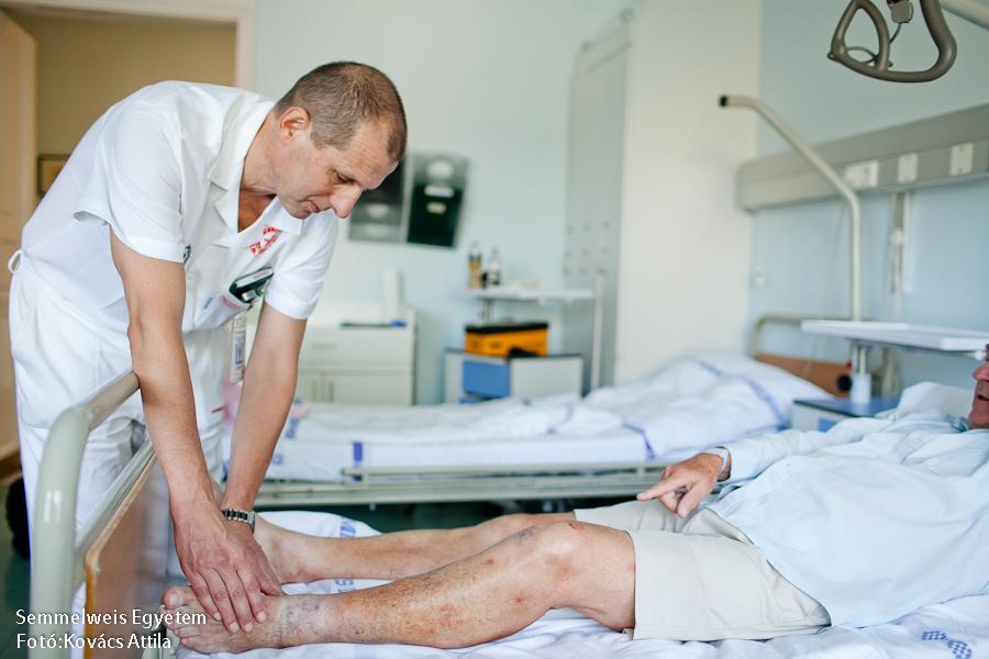 kórház a visszér ellen