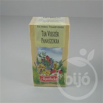 tea visszér