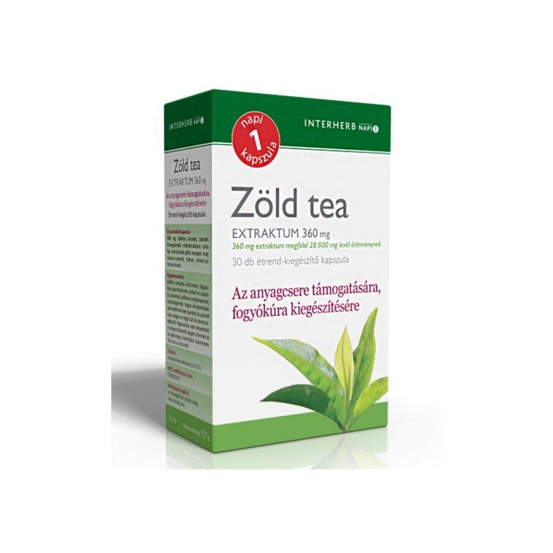 zöld tea visszér a visszerek gélmegelőzése terhesség alatt